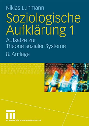 9783531166360: Soziologische Aufklärung 1: Aufsätze zur Theorie sozialer Systeme