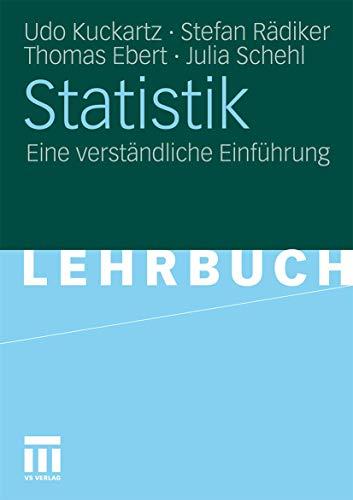 9783531166629: Statistik: Eine verständliche Einführung