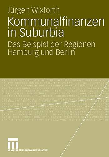 Kommunalfinanzen in Suburbia: Jürgen Wixforth