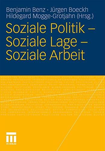 9783531168852: Soziale Politik - Soziale Lage - Soziale Arbeit