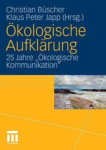 Ökologische Aufklärung: Christian Büscher