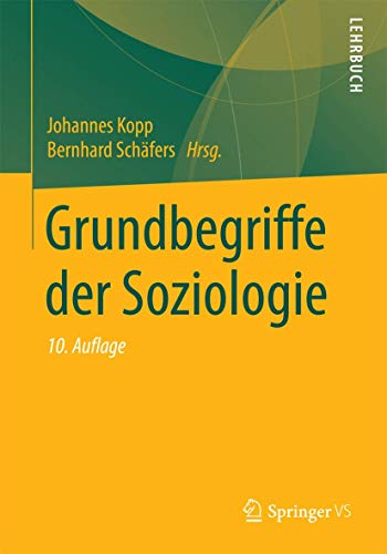 9783531169859: Grundbegriffe der Soziologie