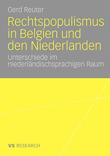 9783531171340: Rechtspopulismus in Belgien und den Niederlanden: Unterschiede im niederländischsprachigen Raum