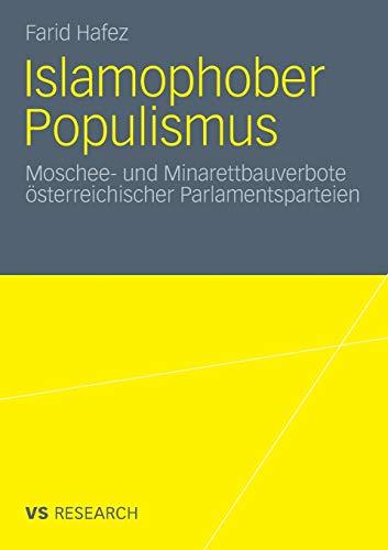9783531171524: Islamophober Populismus