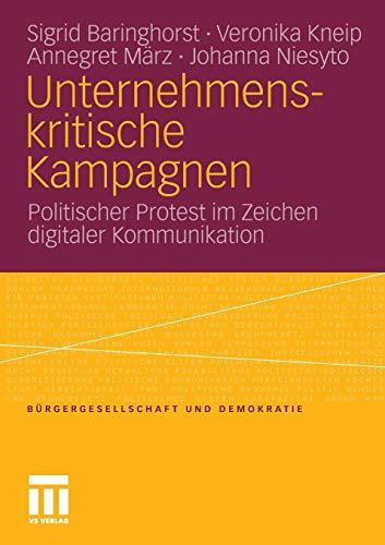 Unternehmenskritische Kampagnen: Sigrid Baringhorst