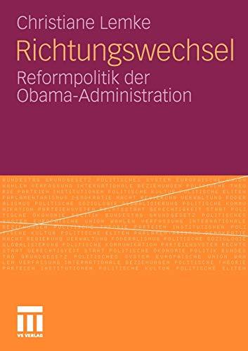 9783531177212: Richtungswechsel: Reformpolitik der Obama-Administration