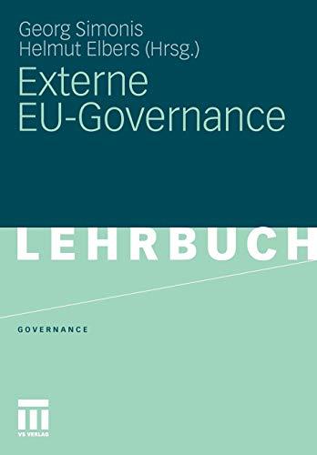 9783531179414: Externe Eu-Governance (Governance (Paperback))