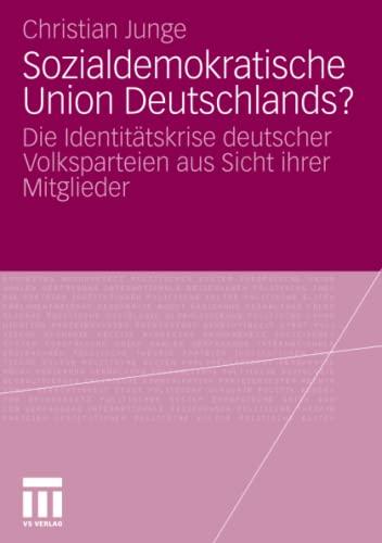 Sozialdemokratische Union Deutschlands?: Christian Junge