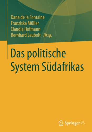 9783531184760: Das politische System Südafrikas