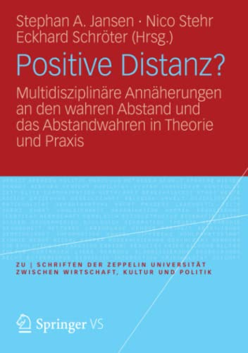 Positive Distanz?: Stephan A. Jansen