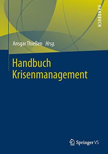 9783531193663: Handbuch Krisenmanagement (German Edition)