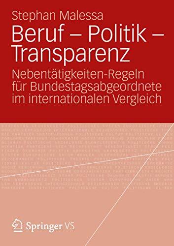 Beruf - Politik - Transparenz: Stephan Malessa