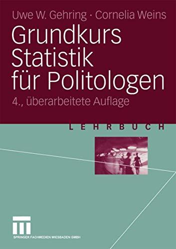 9783531531939: Grundkurs Statistik für Politologen