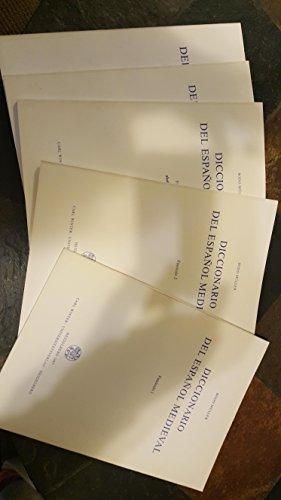 9783533038795: Diccionario del español medieval (Sammlung romanischer Elementar- und Handbücher. Reihe 3, Wörterbücher)