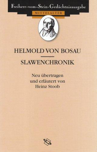 9783534001750: Helmold Von Bosau