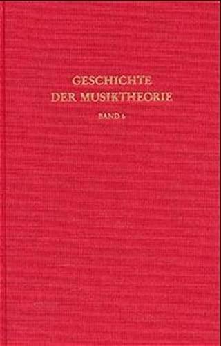 9783534012060: Geschichte der Musiktheorie