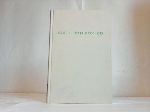 9783534017560: Exilleratur 1933-1945 (Wege der Forschung)