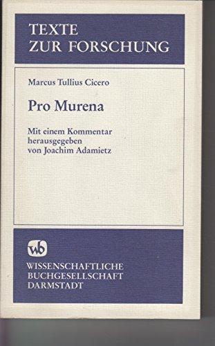 9783534022465: Pro Murena