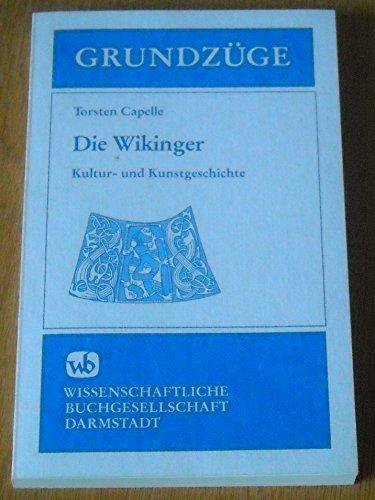 9783534025091: Kultur- und Kunstgeschichte der Wikinger (Grundzüge)
