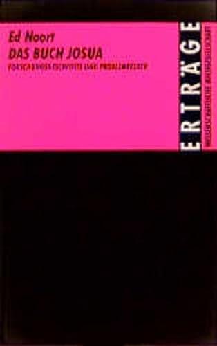 9783534028276: Das Buch Josua: Forschungsgeschichte und Problemfelder (Erträge der Forschung) (German Edition)