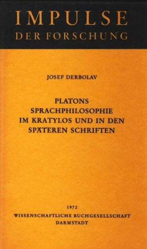 Platons Sprachpilosophie im Kratylos