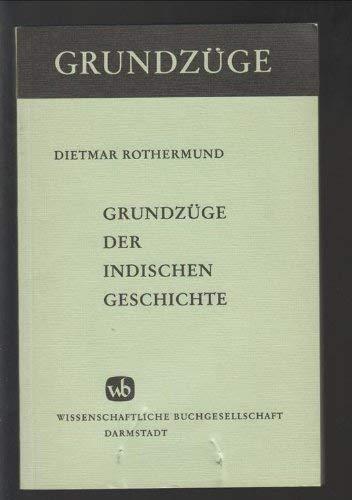9783534039074: Grundzüge der indischen Geschichte (Grundzüge ; Bd. 30) (German Edition)