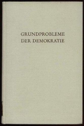 9783534039593: Grundprobleme der Demokratie