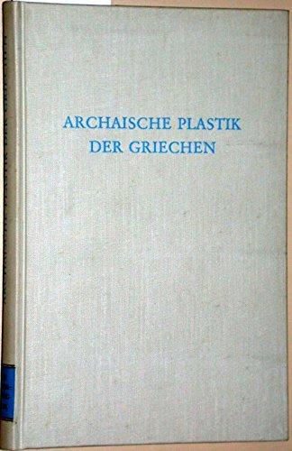 9783534053193: Archaische Plastik der Griechen (Wege der Forschung)