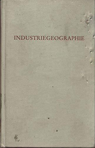 Industriegeographie.: Hottes, Karlheinz (Hrsg.)