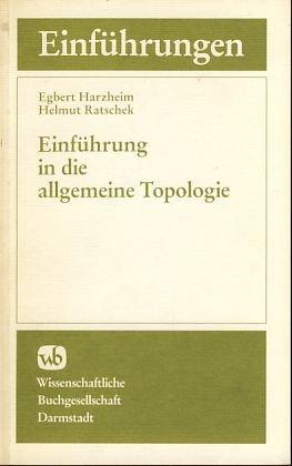 9783534063550: Einf�hrung in die allgemeine Topologie.