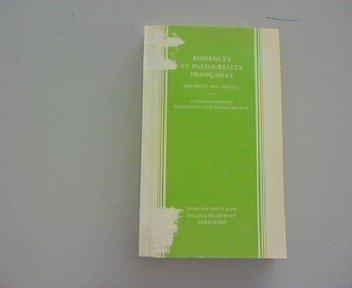 9783534065325: Romances et Pastourelles Francaise Des XIIe et XIIIe Siecles. Altfranzosische Romanzen Und Pastourellen