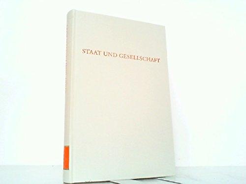 Staat und Gesellschaft.: B�ckenf�rde, Ernst-Wolfgang (ed.)