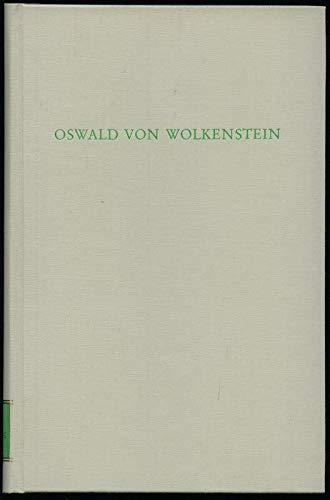 9783534075164: Oswald von Wolkenstein (Wege der Forschung ; Bd. 526) (German Edition)