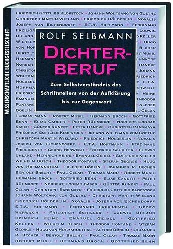 9783534125562: Dichterberuf