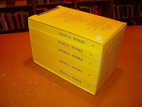 Philosophische Schriften. 5., um neue Vorbemerkungen erw. Auflage. 5 Bde.: Seneca.