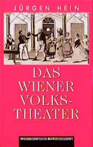 9783534135936: Das Wiener Volkstheater