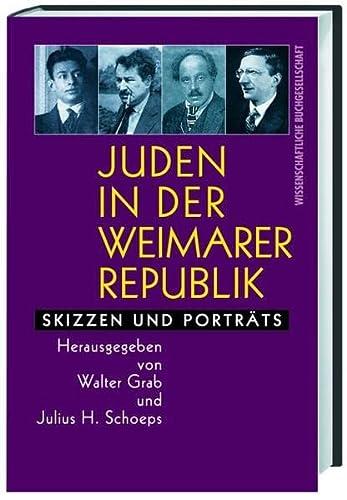 9783534138999: Juden in der Weimarer Republik