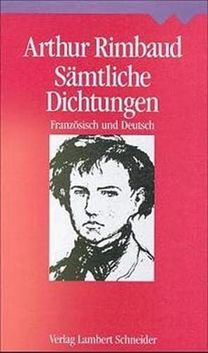 9783534146673: Sämtliche Dichtungen: Französisch und Deutsch