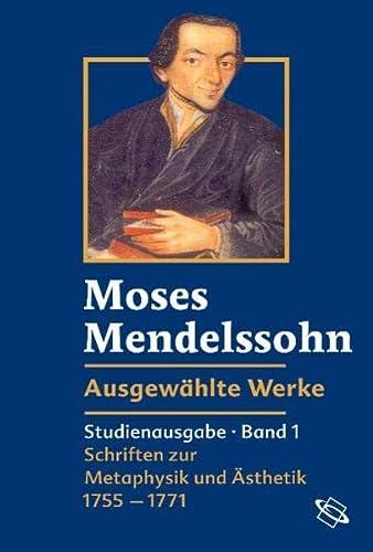 9783534158720: Ausgewählte Werke: Bd. 1: Schriften zur Metaphysik und Ästhetik 1755-1771 / Bd. 2: Schriften zu Aufklärung und Judentum 1770-1786