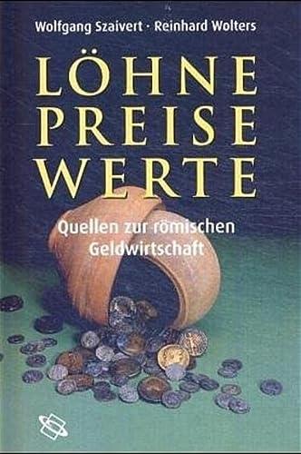 Löhne, Preise, Werte: Wolfgang Szaivert