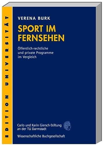 Sport im Fernsehen: Verena Burk