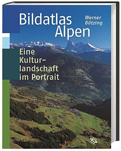 9783534176458: Bildatlas Alpen: Eine Kulturlandschaft im Portrait