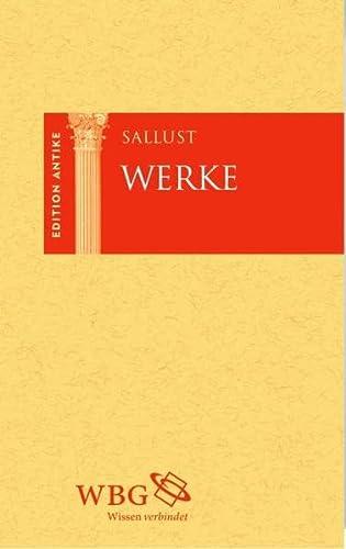 Sallust Werke: Sallust