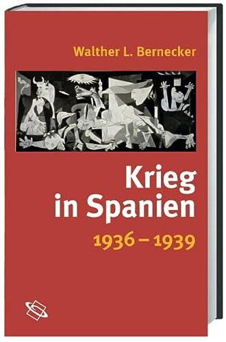 9783534190270: Krieg in Spanien. 1936 - 1939