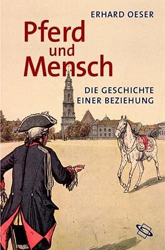 9783534190676: Pferd und Mensch: Die Geschichte einer Beziehung