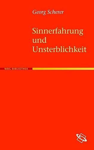 Sinnerfahrung und Unsterblichkeit: Georg Scherer