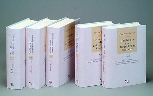9783534201914: Geschichte der altkirchlichen Literatur (5 Bde): 5 Bde