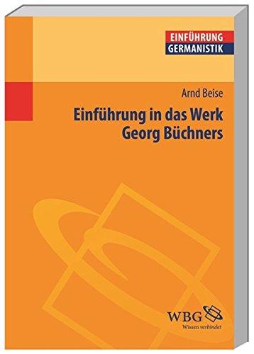 9783534216116: Einführung in das Werk Georg Büchners