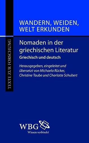 Nomaden in der Griechischen Literatur: Charlotte Schubert