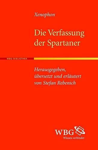 9783534231140: Die Verfassung der Spartaner
